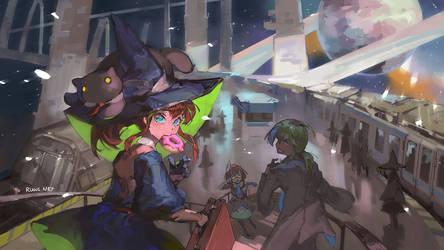 Magical Commuter Rail [202/365]