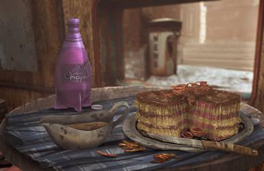 Fallout Foods: Steak Cake