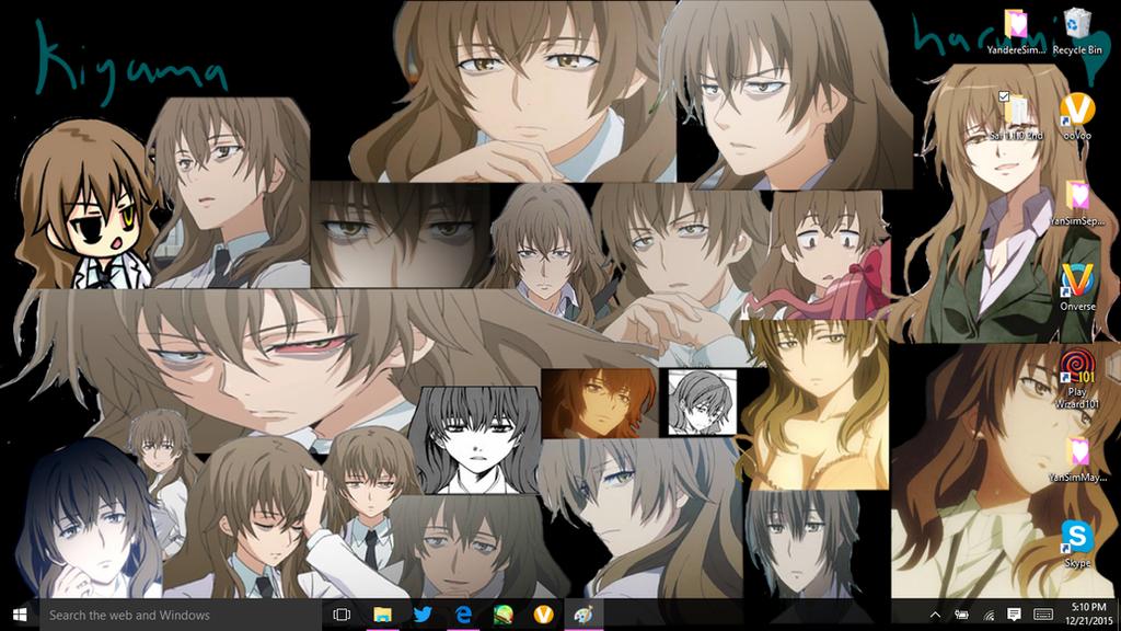 my waifu desktop by steffy chanz on deviantart