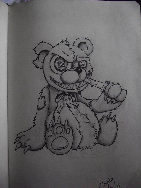 The Killer Teddy by InisB on DeviantArt