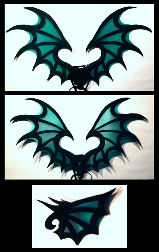 Aqua Wings by CraftyWingy