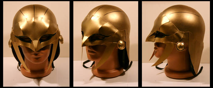 Hawkgirl Helmet Justice Lords