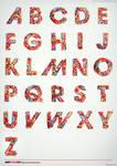 Typography Candy Alphabet