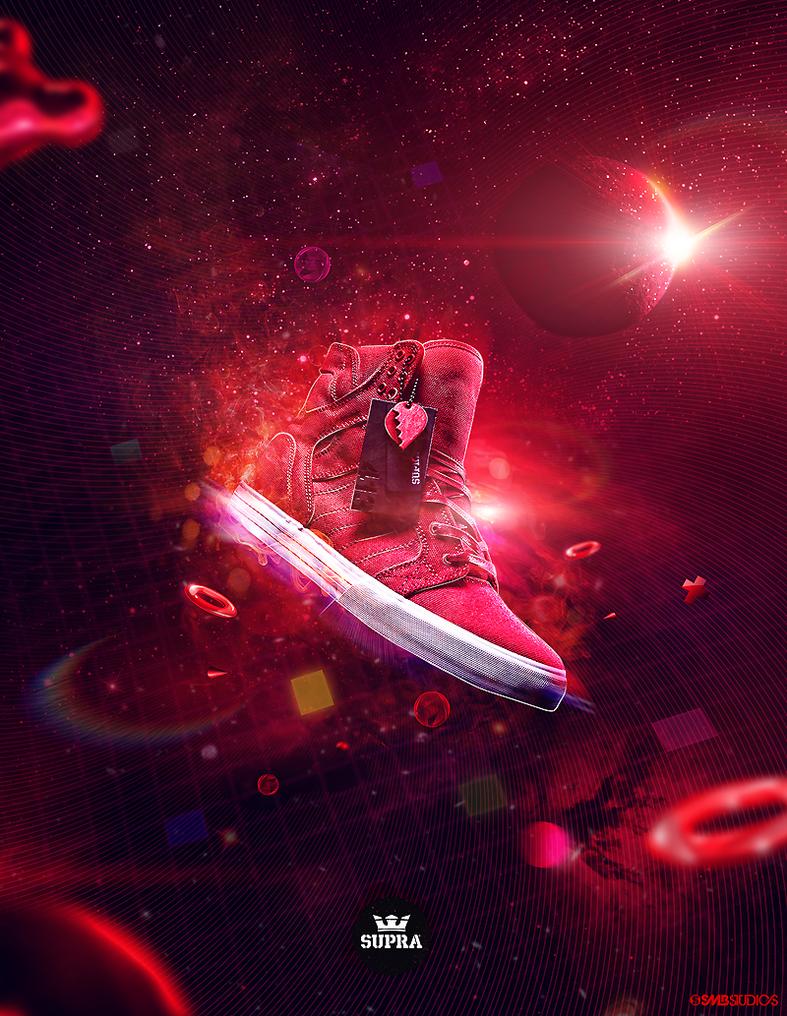 Supra Skytop Heartbreaker 2010 by crymz