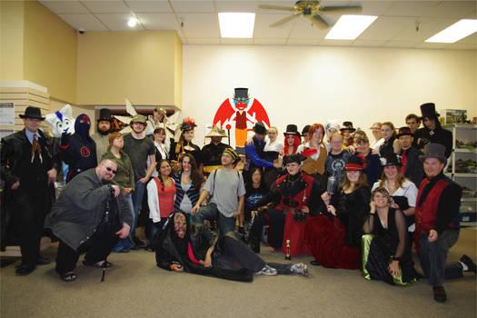 Steampunk Halloween Party