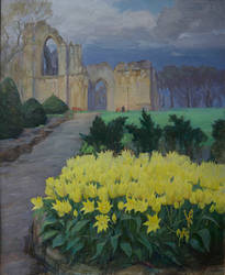 Out of time. St Mary's Abbey. by Elena-Palenko