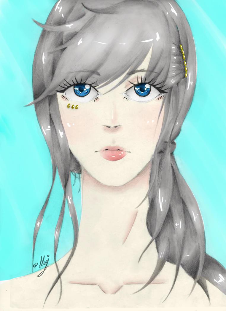 Coloured Girl by KanashimiNoAoiHana