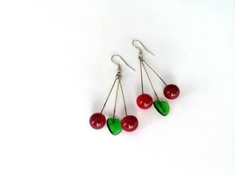 Jewelry, Lampwork Earrings, Earrings, Unique