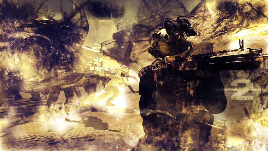 Cod Mw2 Wallpaper By Jimmypage990 On Deviantart
