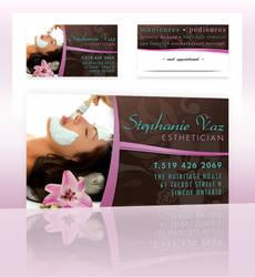 Business Card - Stephanie Vaz