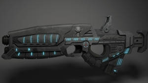Sci-fi weapon by Raukomahtar