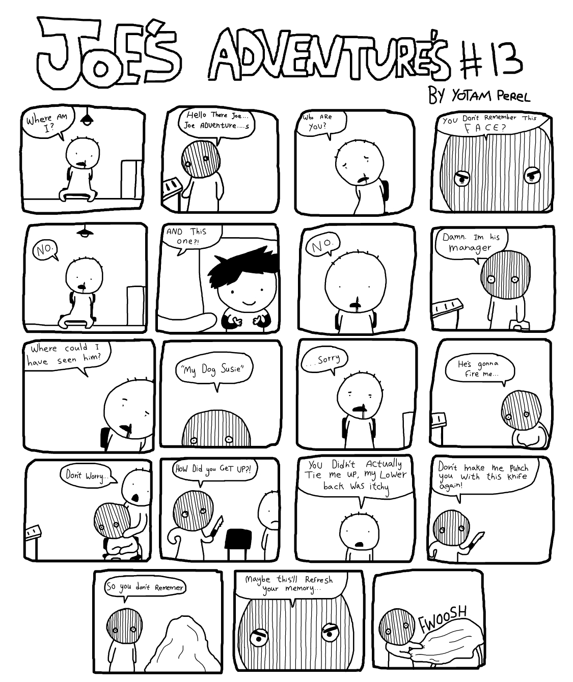 Joes Adventures 13 by LazyMuFFin
