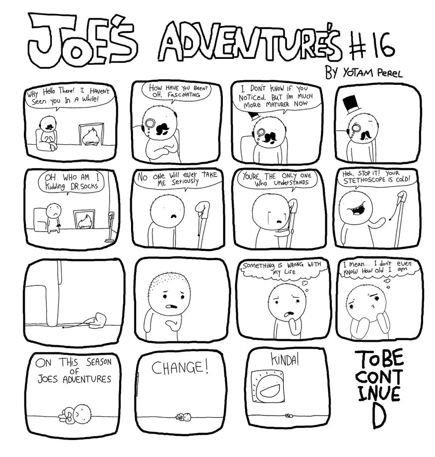 Joes Adventures 16 by LazyMuFFin