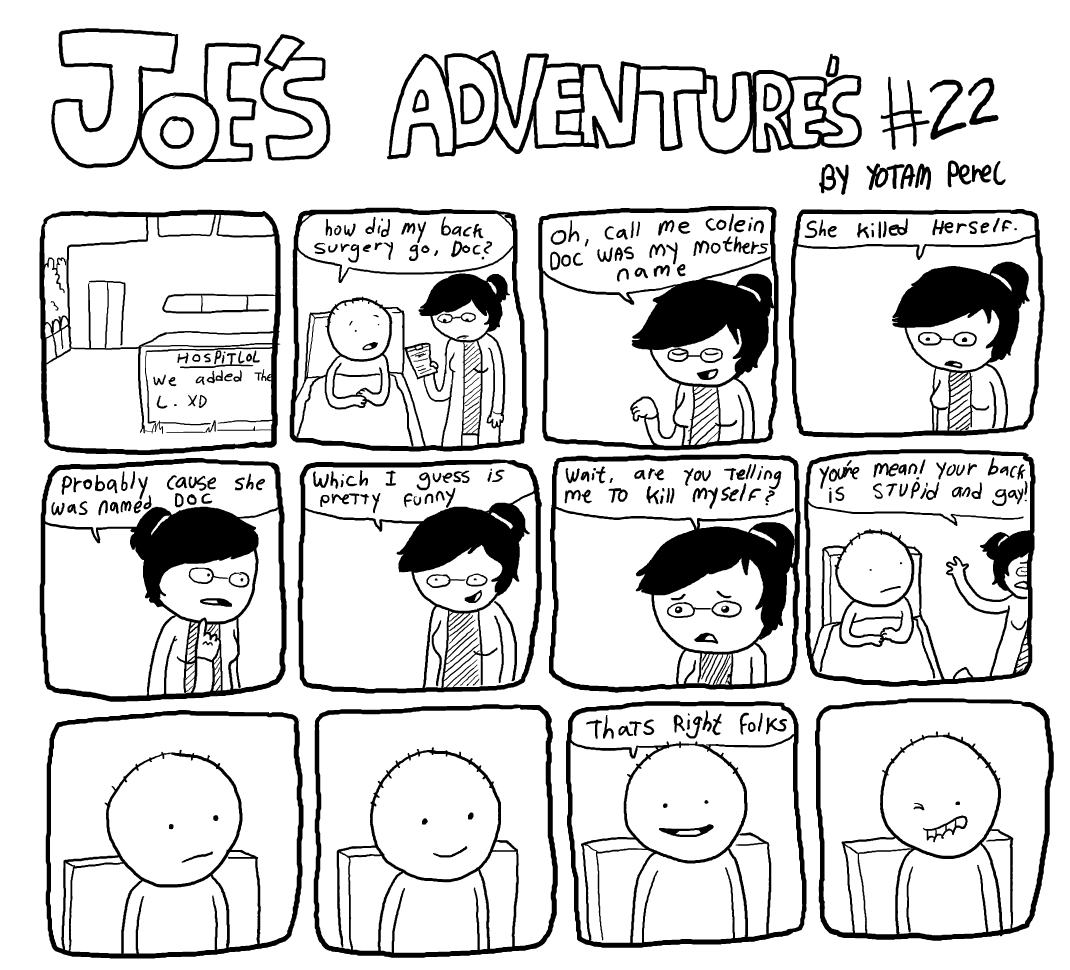 Joes Adventures 22 by LazyMuFFin
