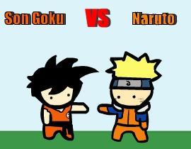 Goku vs naruto ¿Quien ganara??