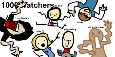 1000 watchers. by LazyMuFFin
