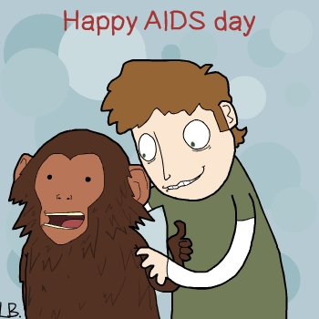 Happy AIDS Day by LazyMuFFin
