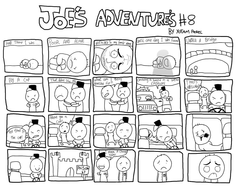 Joes Adventures 8 by LazyMuFFin