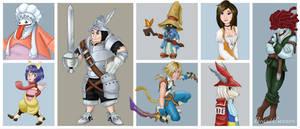Final Fantasy IX Disneyfied