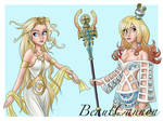 The Goddesses by BeautCannon