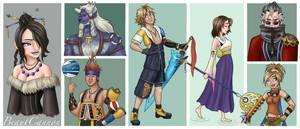 Final Fantasy X Disneyfied