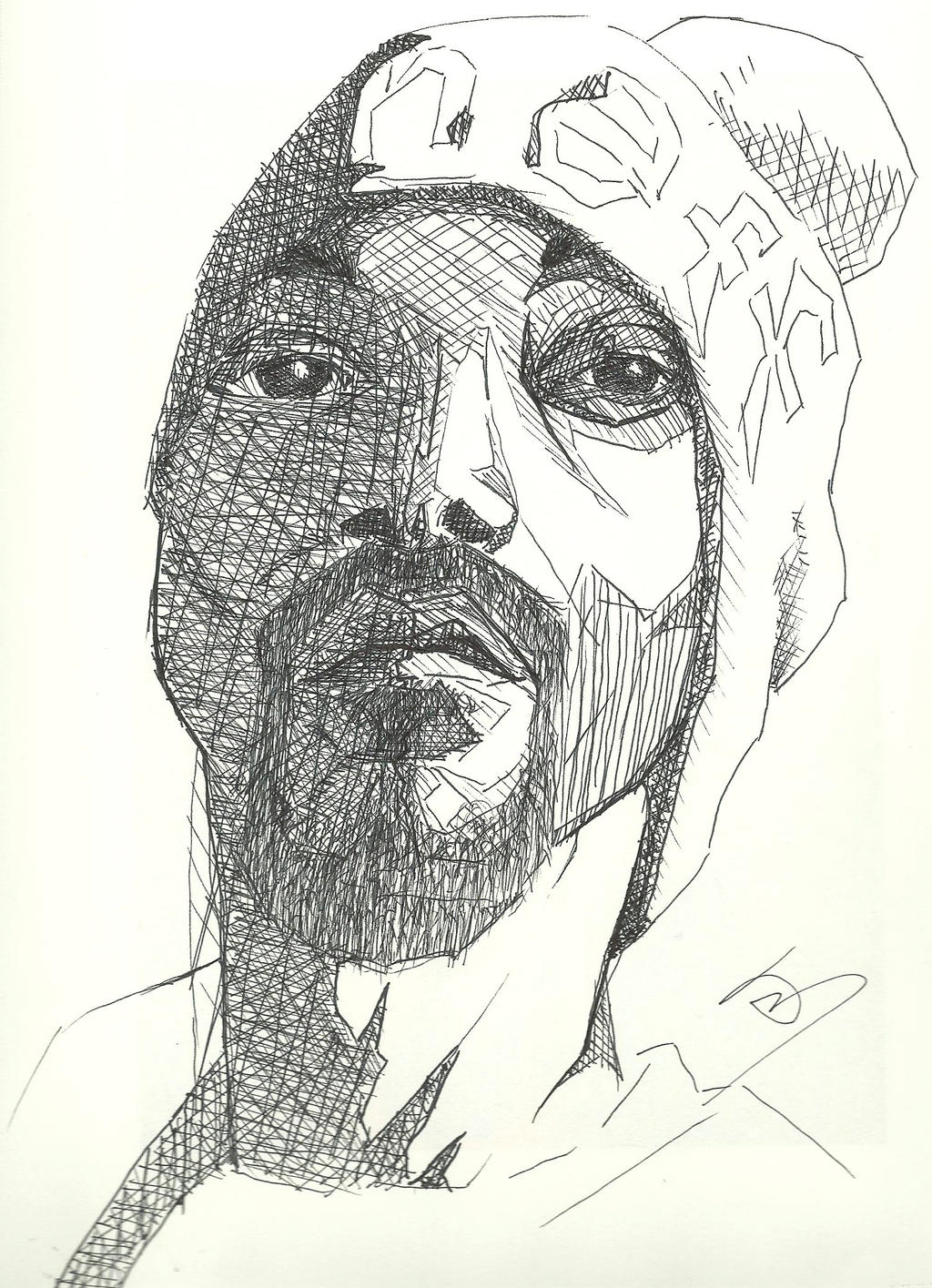 Contour Line Drawing Of A Dog : Snoop dog line contour by theimppressionist on deviantart