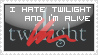 I hate Twilight Stamp by Linkin-Lady