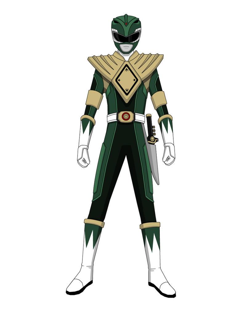 Green Ranger 2011 Concept Art by Jarein