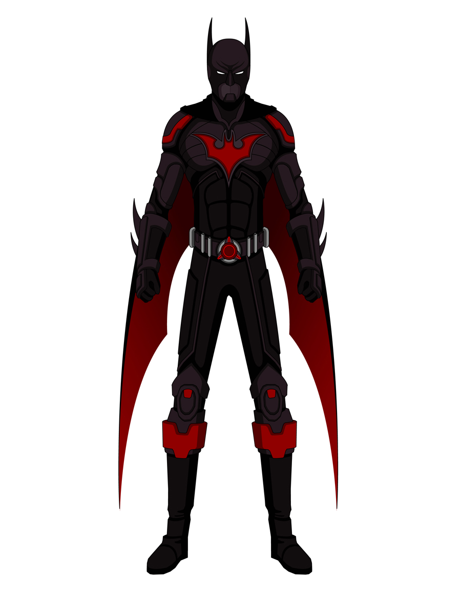 Batman Beyond - Alt Concept by Jarein