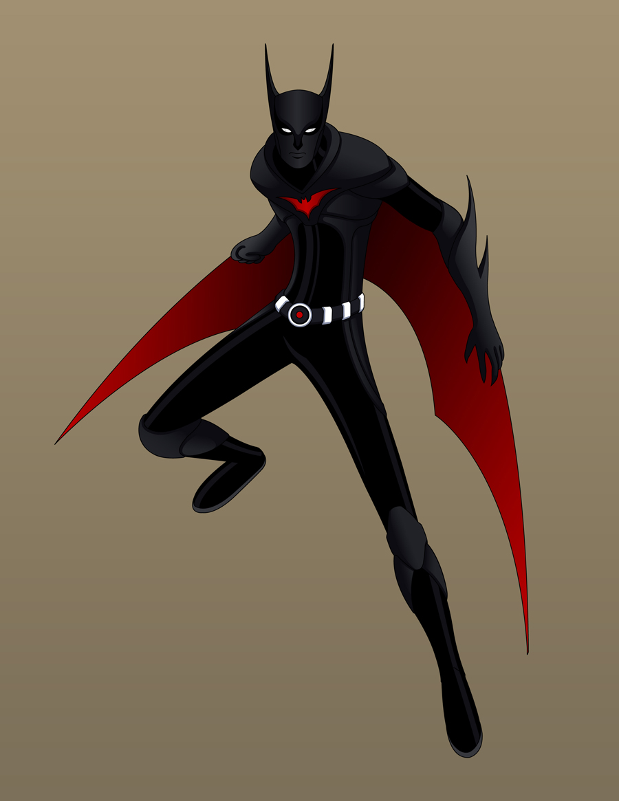 Batman Beyond- Concept Design by Jarein
