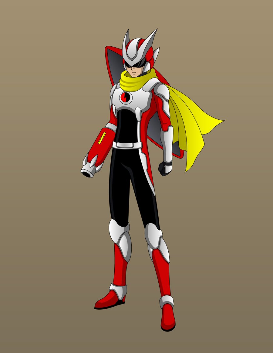 Protoman Design Concept by Jarein