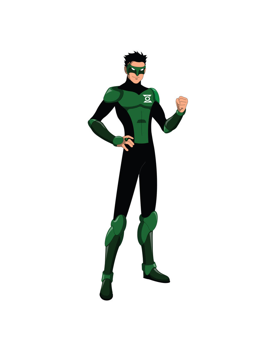 Young Justice TV - Kyle Rayner by Jarein