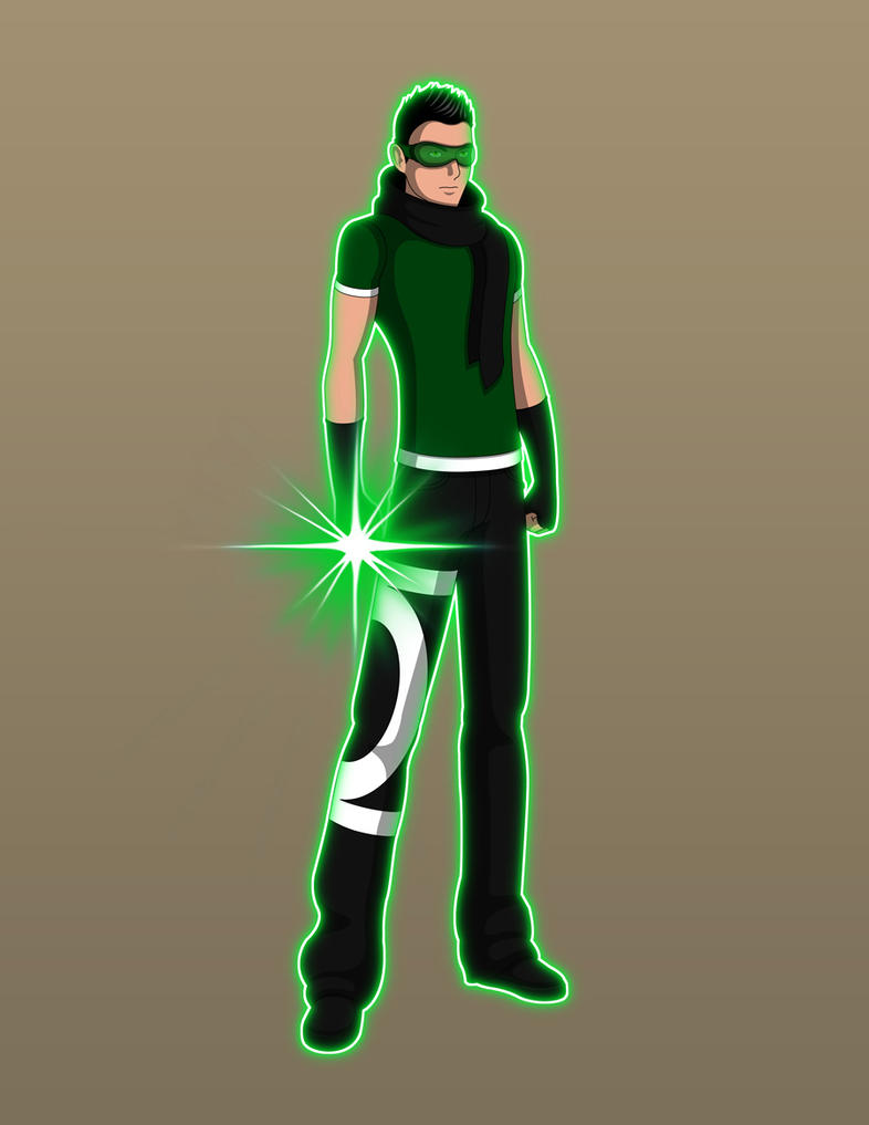 Young Justice TV - Kyle Rayner V2 by Jarein
