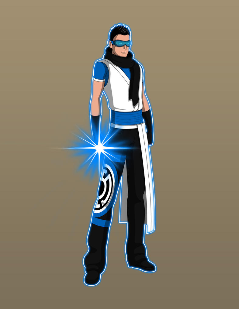 Young Justice TV - Kyle Rayner Blue Lantern by JareinYoung Justice Kyle Rayner