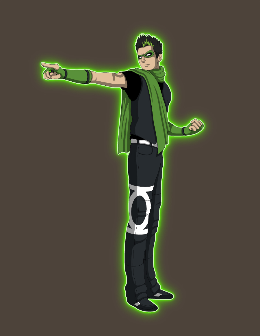Kyle Rayner Concept V3 -Young Justice by Jarein