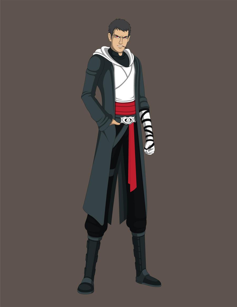 Naruto/ACreed Fanfic OC- Jushiro Sarutobi by Jarein on