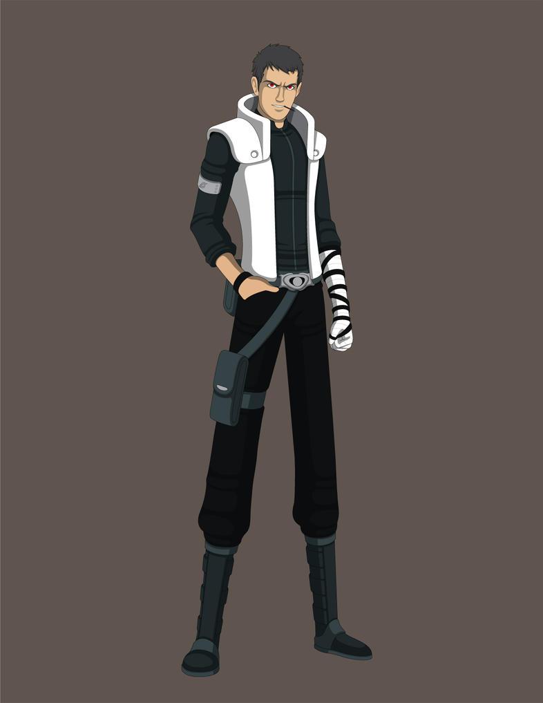 Naruto OC - Sarutobi Juushiro: Jounin by Jarein