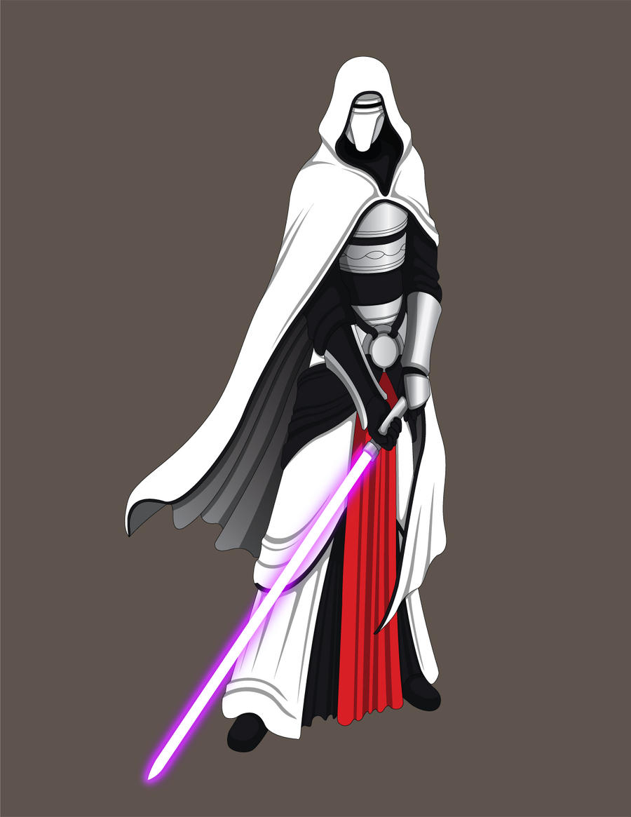 Star Wars/Bleach Crossover - Arrancar Revan by Jarein