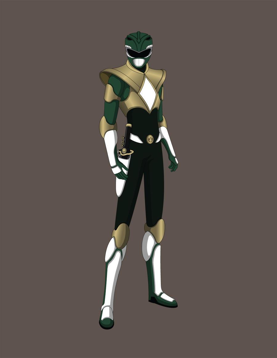 Green Ranger Concept Revision V2.0 by Jarein