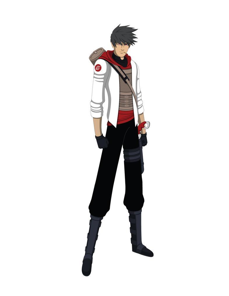 Naruto OC - Sarutobi Juushiro - Design Reboot by Jarein