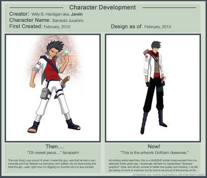 Character Development Meme - Shiro