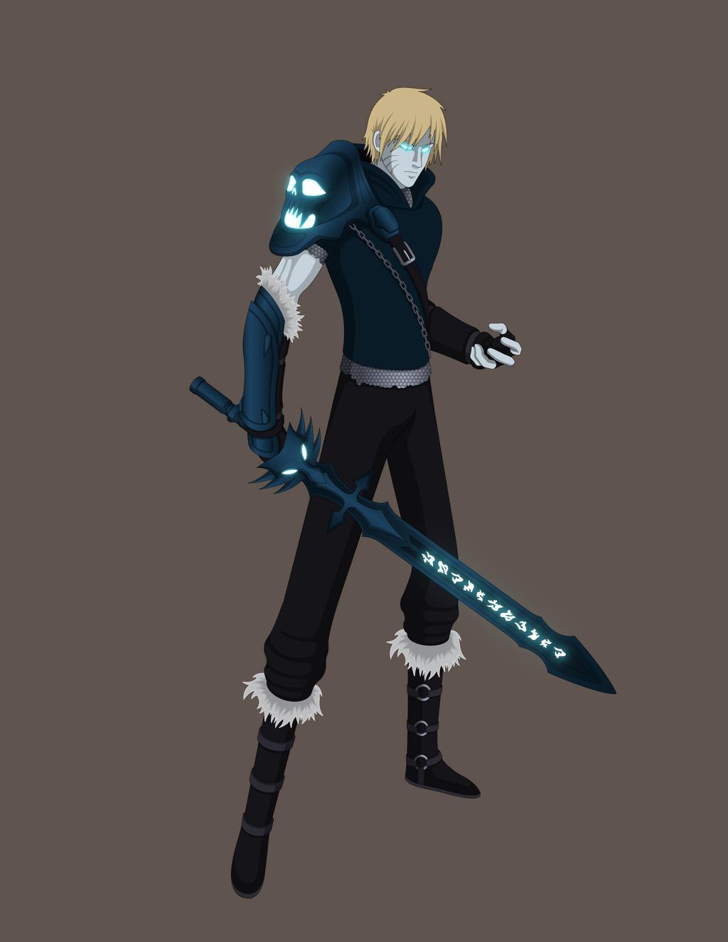 Naruto/WoWarcraft Crossover - Death Knight by Jarein