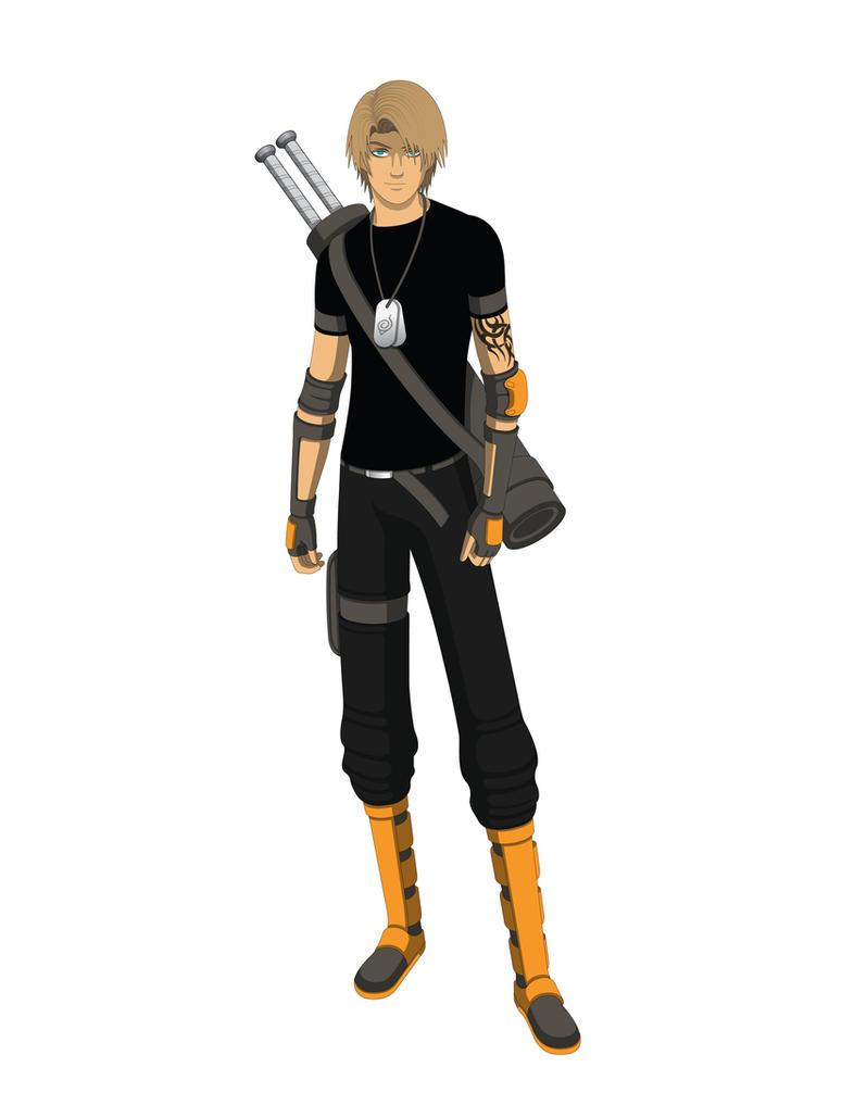 Naruto OC- Yamanaka Isshigo v1.2 by Jarein