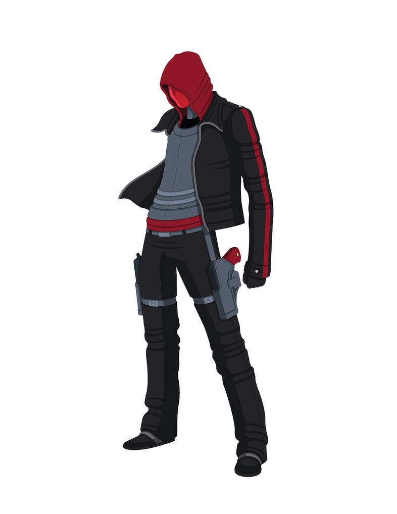 Red Hood - Redesign 2.0 by Jarein