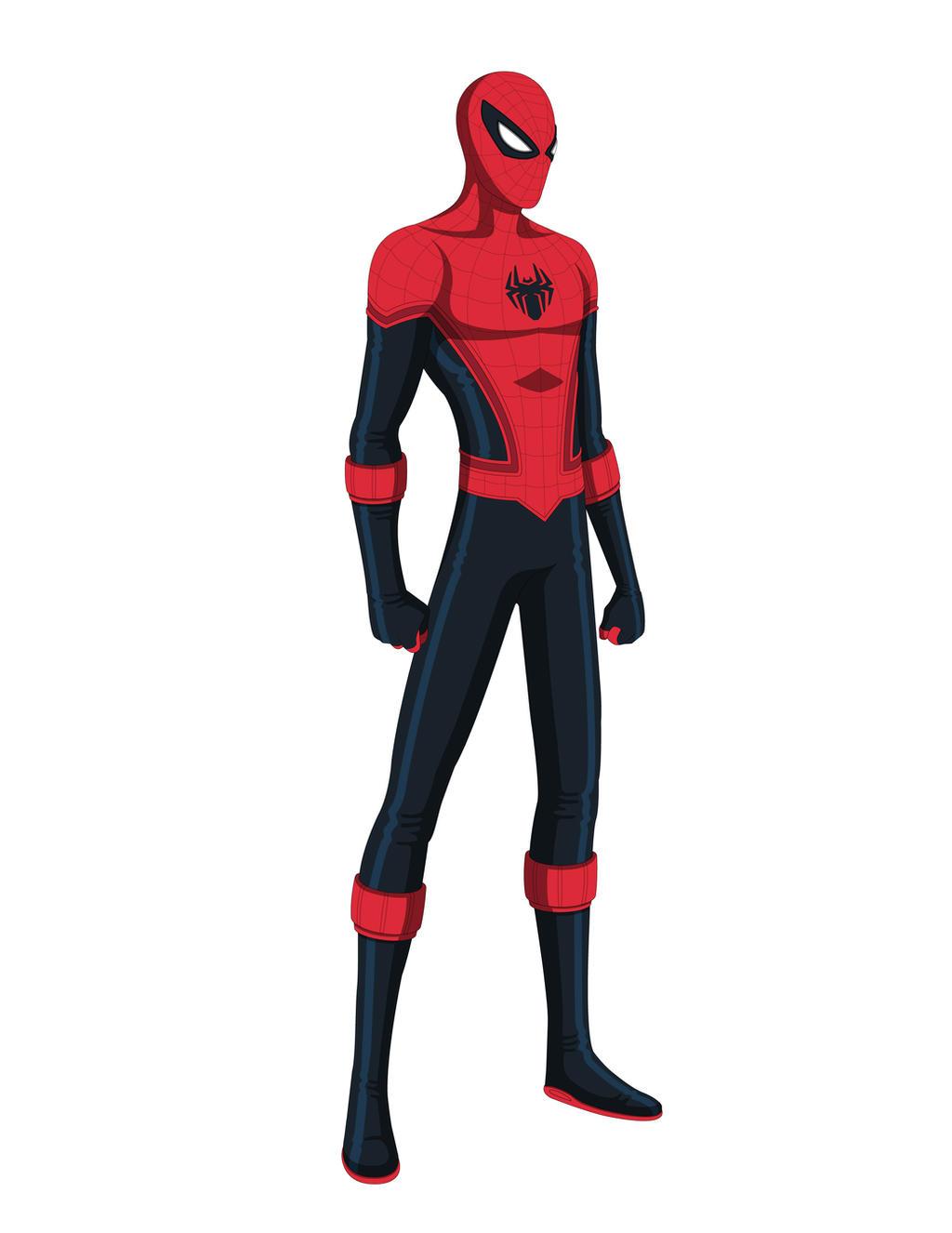 Spider-Man Concept Design by Jarein