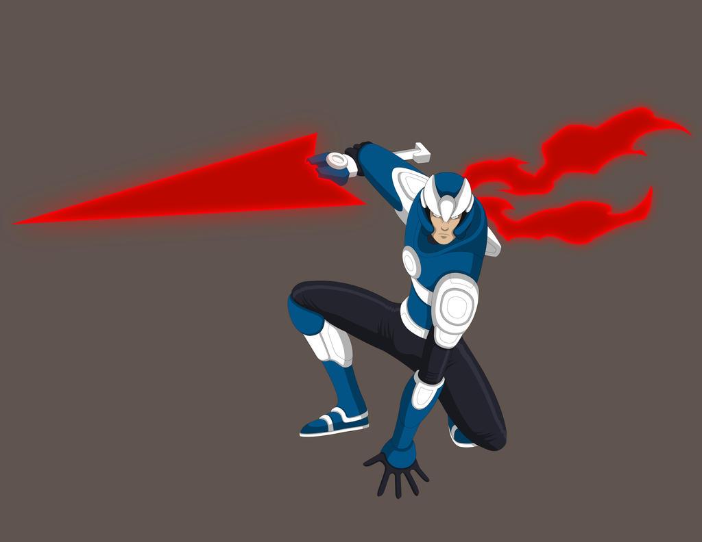 Megaman X - Concept Design- Strider Armor by Jarein