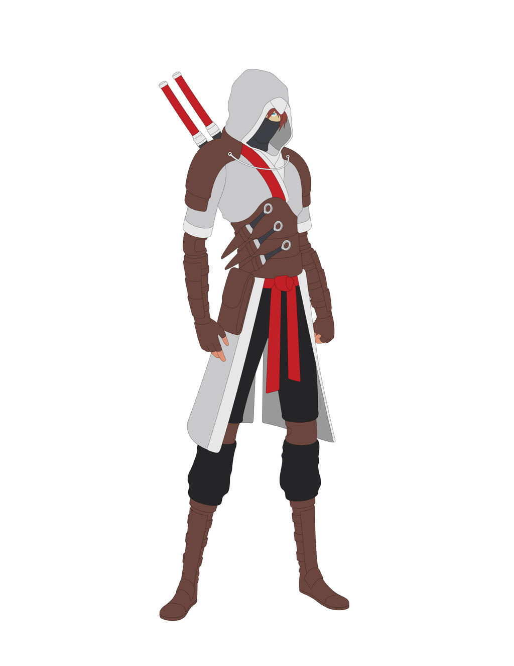 Assassins Creed Shinobi Concept Update - WIP by Jarein