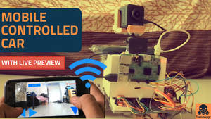 How to Make Mobile Controlled Car | Raspberry Pi |