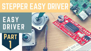 Control stepper motor with mobile | RaspberryPi |
