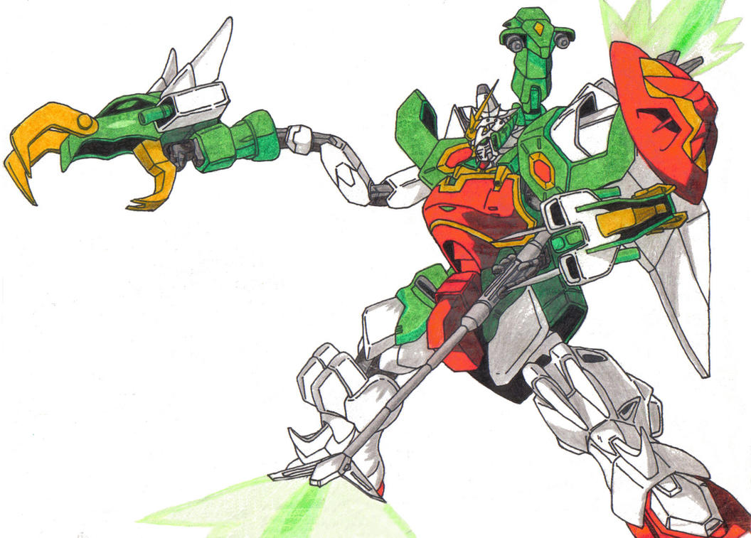 Gundam Wing- Nataku by ninjavanish on DeviantArt